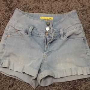 Jean shorts , good condition & size 1